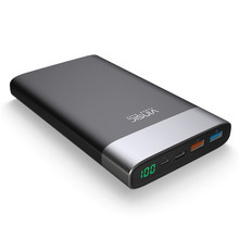 Vinsic QC 3.0 20000mAh Power Bank 2.4A Dual Output With Type C Port External Battery Pack for iPhone/Samsung/Xiaomi VSPB303(China)