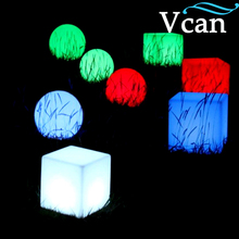 Nice remote control rechargeable lithium battery LED Cube Light Lamp For Party VC-A300