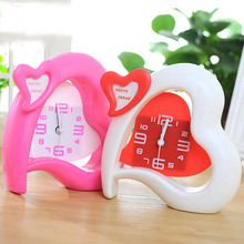 Creative Alarm clock watch despertador reveil reloj despertador table clock relogio de mesa kids gift party wedding decor