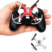 Mini Explorers RC Quadcopter 4CH 2.4GHz 6-Axis Gyro LED Drone 3D Flying White/Red RC Plane Toy