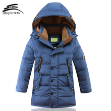 2017 Fashion Children'S Winter Thick Down Jacket Boys Down Jacket oieys dor Duck Down Jacket Wear Coat casual Hooded down jacket(China)