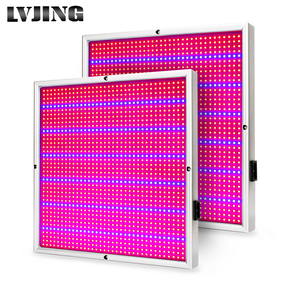 2pcs/lot LVJING LED Grow Light 120W Full Spectrum Red+Blue For indoor Medical plants Grow Medical Veg/Flower<br>