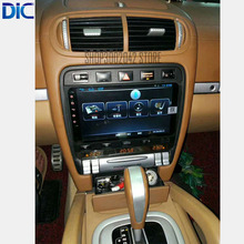 DLC Android multifunction system navigation player GPS car styling 9 inch for porch cayenne 2006-2009 support canbus mp3 video(China)