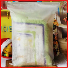 Plastic sweater Packaging frosted ziplock bags/ ziplock bags sealed bags frosted storage bags(China)