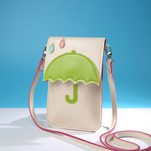 lady touch screen mobile phone bag fashion cat girls shoulder bags Messenger bag mini cross-body