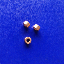 3*6*3.5mm Copper base powder metallurgical parts Powder Metallurgy oil bushing  porous bearing Sintered copper sleeve