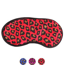 Sexy Leopard Sleeping Eye Mask Blindfold Shade Sleep Aid Satin