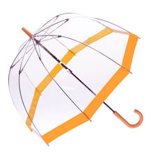 [ Fly Eagle ]Wholesal Transparent Clear Arch Apollo Umbrella Parasol For Wedding Party Favor Orange