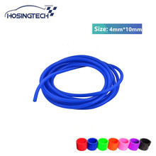 HOSINGTECH- high temperature 10meter 4mm silicone vacuum hose tube pipe