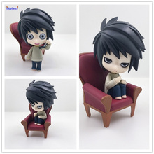 Tobyfancy DEATH NOTE Action Figures Nendoroid L Lawliet Anime PVC 100mm Toy Japanese Anime Figures DEATH NOTE Nendoroid Figure