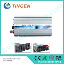 Over-temperature protection  pure sine wave 120v tie grid inverter 1000w
