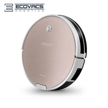 Robot Vacuum Cleaner ECOVACS DEEBOT Glaze CEN663 for Home, 1000Pa 55DB, 300ml Water Tank, Sweep, Suction, Wet Mopping and Dry(China)