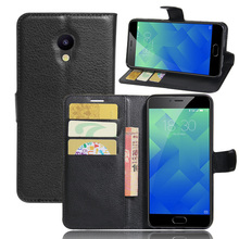 Luxury Phone Protective Fundas Case For Meizu M5 Mini 5.2 Inch Flip Cover Coque Wallet PU Leather Bag Skin For Meizu M5 M 5 Case