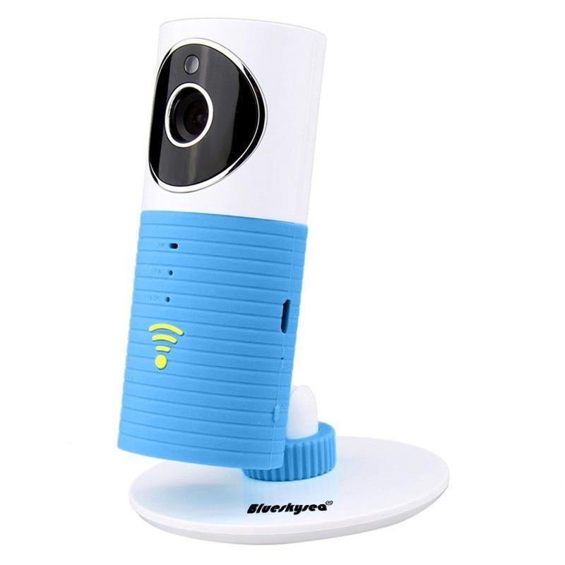 Blueskysea Clever Dog Wifi Home Security IP Camera Baby Monitor Intercom Smart Phone Audio Night Vision cam de seguridad P4PM<br>