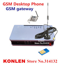 GSM gateways fwt wireless terminal fixed phones with sim cards  for connect desktop phone to make call