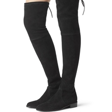 2017 women thigh high boots over the knee motorcycle boots winter and autumn woman shoes plus size 4-11 botas mujer femininas(China)