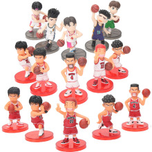 5pcs/set Japanese Anime Figuras Slam Dunk PVC Mini Set Action Figure Adult Hot Dolls Christmas Kids Toys Birthday Boys Toy(China)