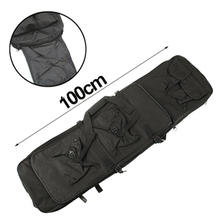 100cm High Density Nylon Rifle Case Bag Tactical Airsoft Proctive Gun bag for Outdoor War Game Activities(China)