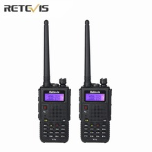 2X Retevis RT5 Walkie Talkie Large Capacity 8W (High/Medium/Low) Portable Radio Transceiver Dual Band Amateur 2 Way Radio Moscow