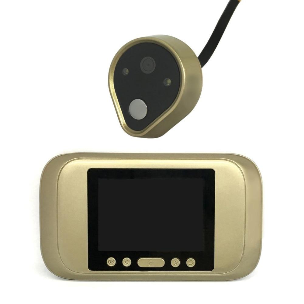 Practical Digital Door Viewer 3.2 LED Display HD Peephole Viewer Visual Doorbell For Home Security Camera TSD-A32D<br>