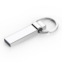 Hot sale new usb flash drive 64GB 32GB 16GB 8GB 4GB pen drive pendrive waterproof metal silver u disk memory disk usb 2.0