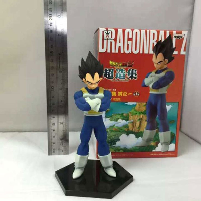 Dragon Ball Z Master Stars Piece No.17 Super Saiyan Vegeta 16cm Boxed PVC Action Figure Model Doll Toy Gift Kids Juguete(China (Mainland))