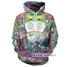 PLstar Cosmo Rick and Morty Hoodies Men Women 3D Sweatshirts Sudadera Hombre Casual Outwear Coats Jackets Brand Pullovers Tracks