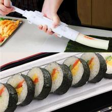 Creative Sushezi Roller Kit Sushi Rolls Made Easy Sushi Bazooka Sushi Maker Roller Set Rice Mould Roller Cooking Tools