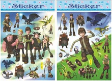 How To Train Your Dragon Master stickers, Dragon Chaser decor gilding sticker,Children room fashion decor stickers Free shipping