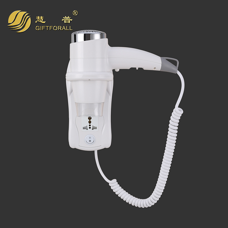 GIFTFORALL Wall Mounted Hair Dryer Hotel Professional Bathroom Hairdresser Adult hair tools Standing Hooded Hair Dryer 67480-W1<br>