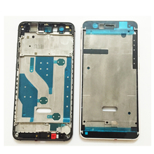 Front Frame Bezel Housing LCD Screen Holder Frame For Huawei P10 Lite Front Housing With Side Power Volume Key Grey/Gold