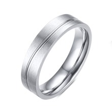 2016 new arrival  top quality engrave ring high polished brushed stainless steel ring Can be carved lettering trendy men bijoux