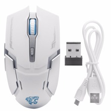 Cordless Scroll Wireless Mouse Gaming Rechargable Mute Button Silent Click Adjustable PC for Computer Tablet Mice