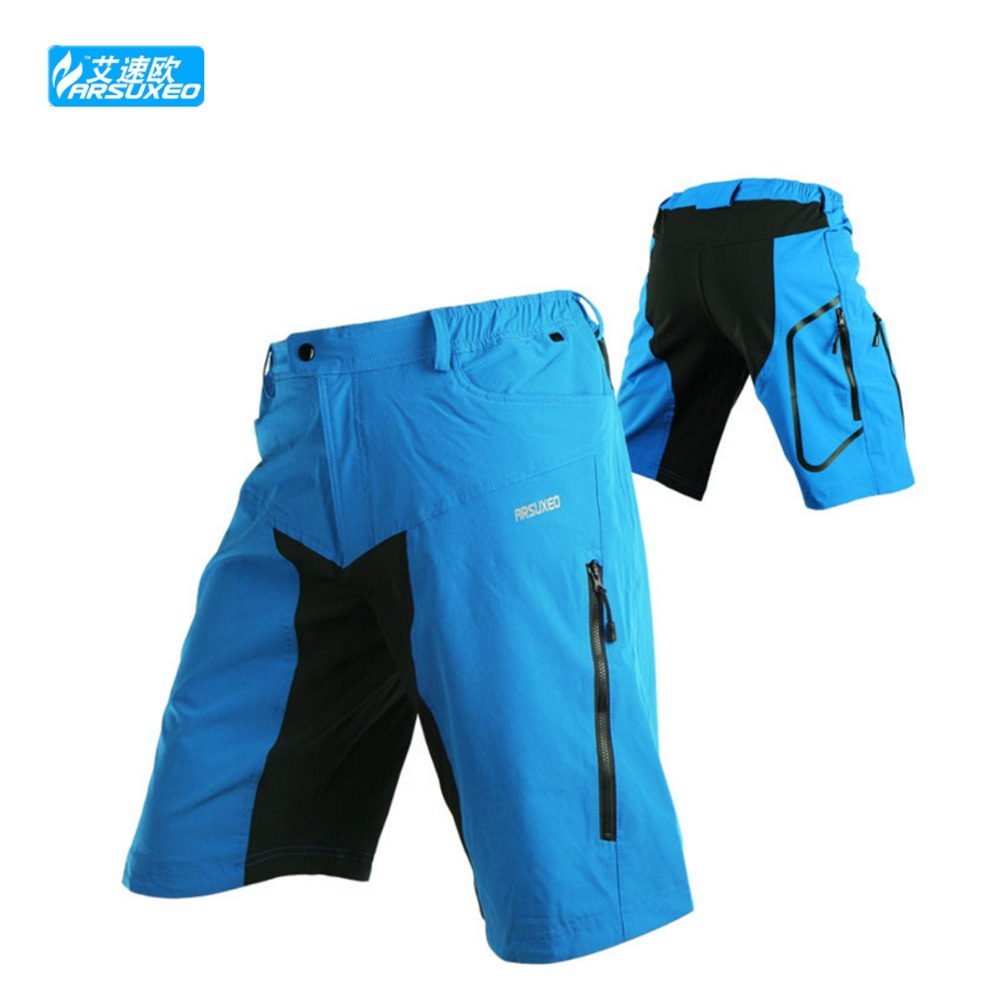 ARSUXEO MTB Road Men Cycling Shorts Mountain ciclismo Bike/Bicycle Leisure Baggy Bermuda<br><br>Aliexpress