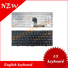 English keyboard for Medion E1226 E1228 with BLACK FRAME US Keyboard