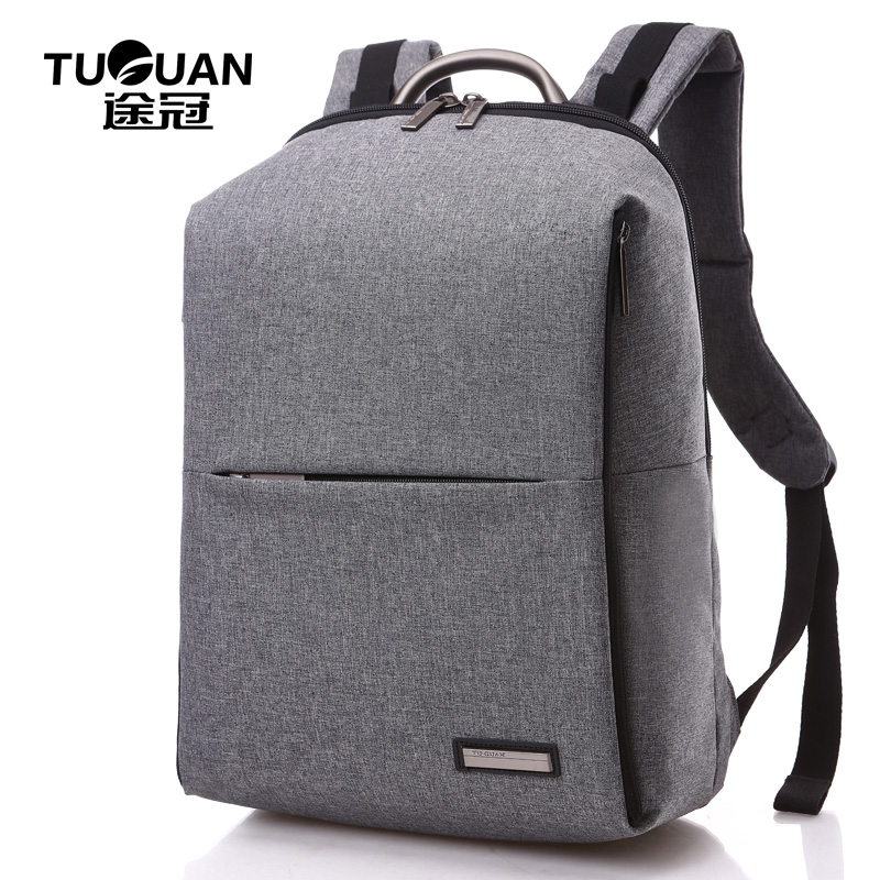 New TUGUAN Brand Style Unisex Men Business 14 Laptop Notebook Practical Backpack Casual Simple Travel Womens Backpacks Bags<br>
