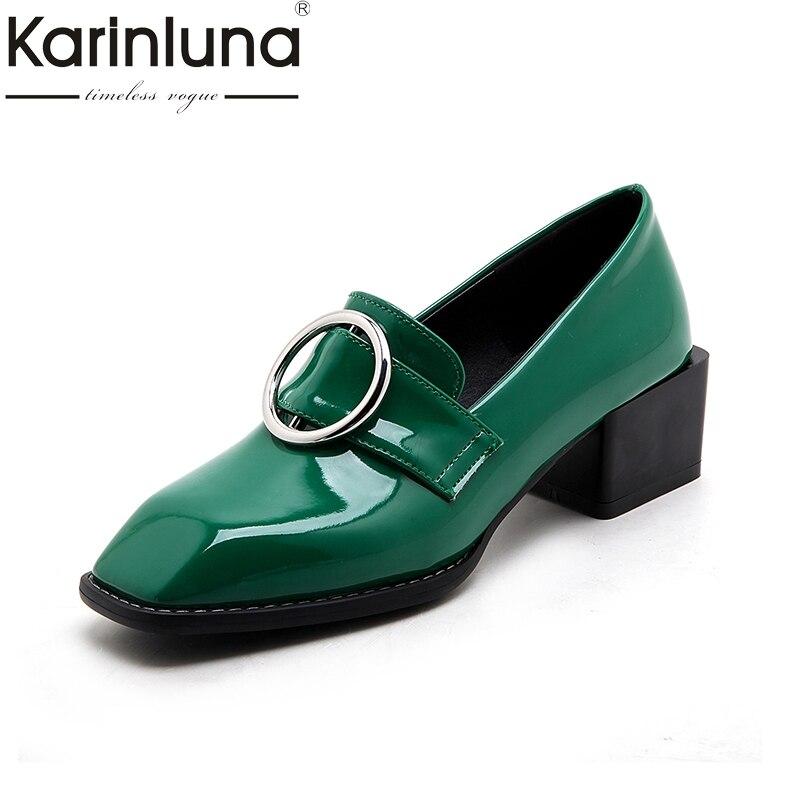 Karinluna 2018 Top Quality Big Size 33-43 Dropship Shoes Women Fashion Retro comfortable Casual Shoes Woman Footwear<br>