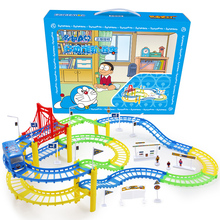 Oyuncak Cars Pixar Chuggington Infant Electric Rail Toy Racing Slot Train Building Kits 3-6 Years Boy Girls Cute Play Game Gift