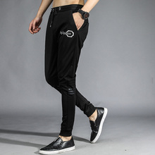 fashion trends men's sporting pants large size loose skateboard hip hop streetwear summer trousers male casual sweatpants 2017