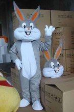 Ohlees Bugs Bunny Mascot costume Cartoon costumes  Adult size Halloween Costume