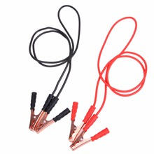 2M 6.56ft 500A Booster Cable Car Battery Power Line Truck Off Road Auto Car Jump Starter Auto Car Emergency Jumping Wire Clamp