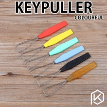 Wire Keyboard Key Keycap Puller Key Cap Plastic Handle Keypull cherry mx steel wire keycap puller keypuller(China)