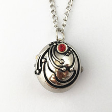 FANTASY UNIVERSE Freeshipping 1pc a lot Vampire Diaries Elena vervain pocket watch Necklace HYT35