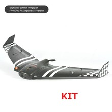 SONICMODELL Skyhunter 900mm Wingspan FPV EPO RC Airplane KIT AIO Camera & 5.8G 200mW Vtx Detachable Quick-Release Structure(China)