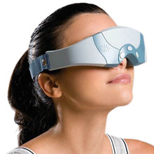 New Health Electric Magnetic Eye Mask Forehead Alleviate Fatigue Massager Free Shipping