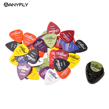Assorted Thickness and Colors 20pcs Guitar Picks Alice Matte Acoustic Electric Picks+1 Alice Guitar Picks Holder bag Case(China)
