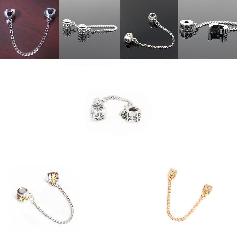1PCS Santa Claus charm Beads Fit European Silver Bracelet DIY--03