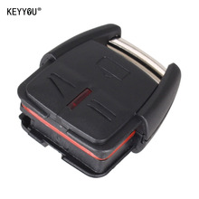 KEYYOU 3 BUTTON REMOTE KEY FOB CASE SHELL FOR VAUXHALL OPEL VECTRA ASTRA ZAFIRA(China)