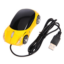 1200DPI Wired Computer Mouse For PC Laptop Notebook Mice for 98/ 2000/NT/ME/XP/MAC/VISTA Car Shape Mice