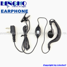 10 pcs sales radio nylon rope cheap walkie talkie earphone for HYT LINTON BAOFENG PUXING etc. Radio